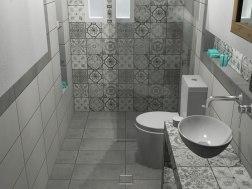 Πλακάκια μπάνιου Pop Sepia 20 x 20 cm
